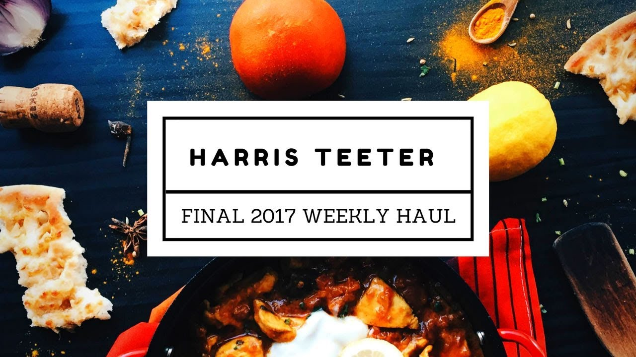 Harris Teeter || Weekly Grocery Haul || Pre-Snow Storm Haul ...