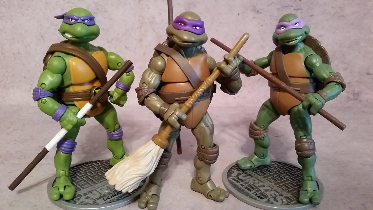 Retro review teenage mutant ninja turtles ii secret of the ooze - Donatello 1991 Secret Of The Ooze Tmnt Teenage Mutant Ninja Turtles Classic Figure Review