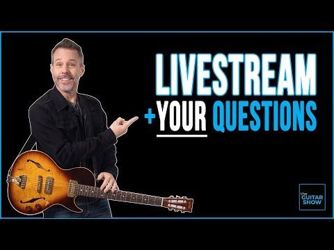The Guitar Show w/ Erich Andreas - LIVE + Q&A