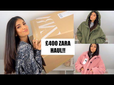 £400 AUTUMN WINTER ZARA TRY ON HAUL / 2018 ZARA HAUL | Kim Mann