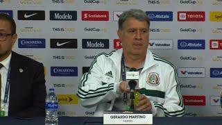Conferencia de Prensa: Gerardo Martino - México (3) - (1) Canadá