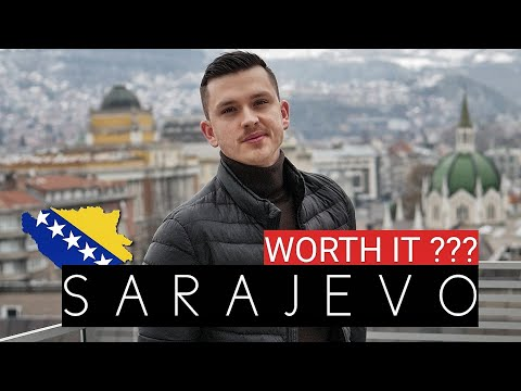 SHOCKED in Bosnia and Herzegovina - First Impression of SARAJEVO 2021