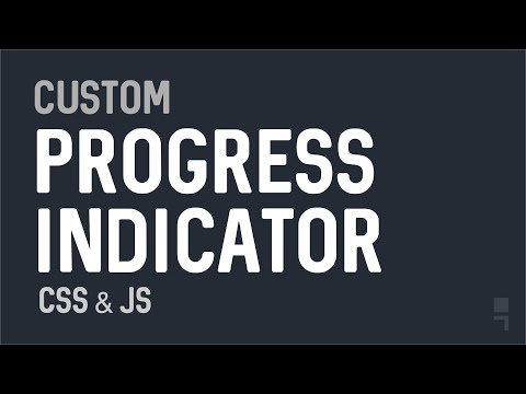 Custom Progress Indicator for upload, download and forms