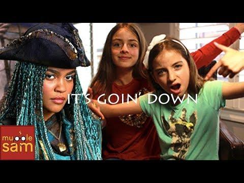 IT'S GOIN' DOWN - DESCENDANTS 2 Cover By Sophia (14) & Bella (12) ⚡️Mugglesam