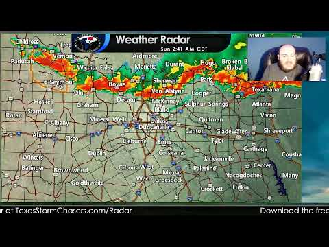 Texas Severe Weather Update | 2:30AM July 11, 2021
