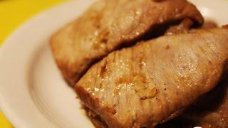 Мясо, маринованное в соево-горчичном соусе  Пошаговый рецепт