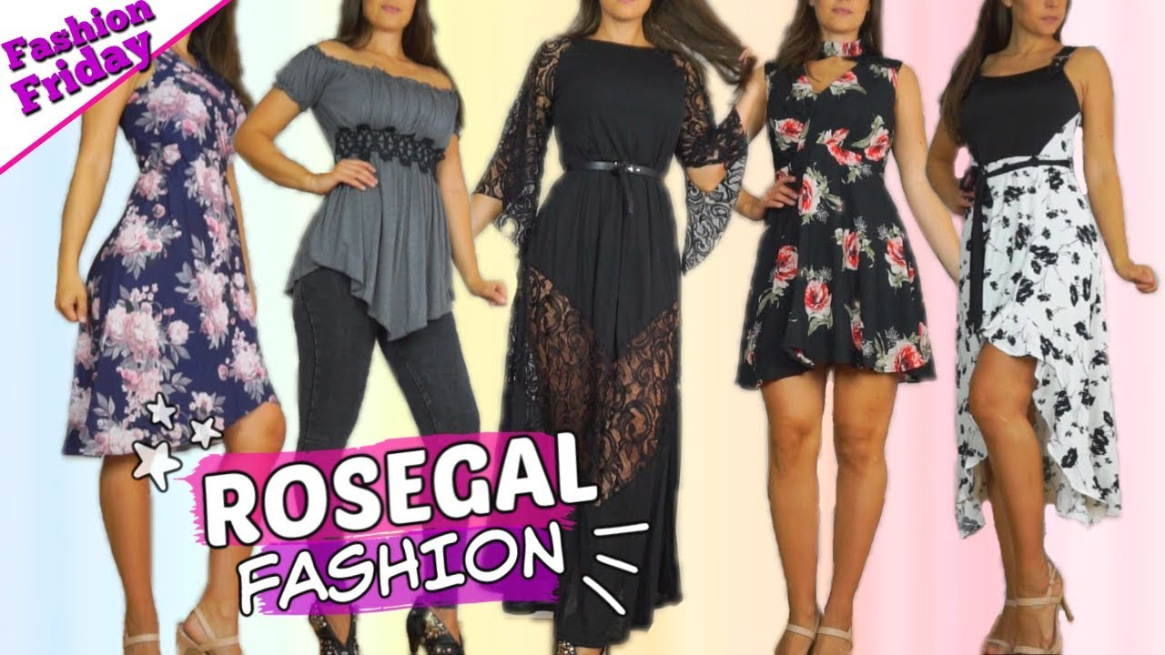 [VIDEO] - 150$ ROSEGAL Fashion review & Try on ? WOW !! Offer Plus size 9