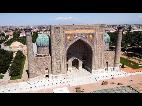 Samarkand, Uzbekistan in 4K Ultra HD