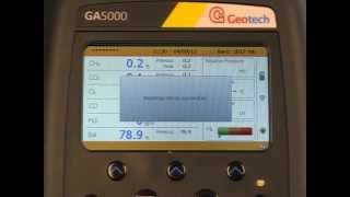 Simple gas operation on the GA5000, GEM5000 and BIOGAS 5000