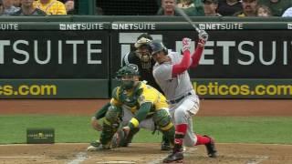 September 03, 2016-Boston Red Sox vs. Oakland Athletics