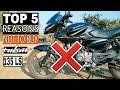 Top 5 Reasons Not to buy Bajaj Pulsar 135 LS BS4 AHO 2018