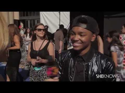 X Factor Star Josh Levi at the Teen Choice Awards - SheKnows Goes to the Shows