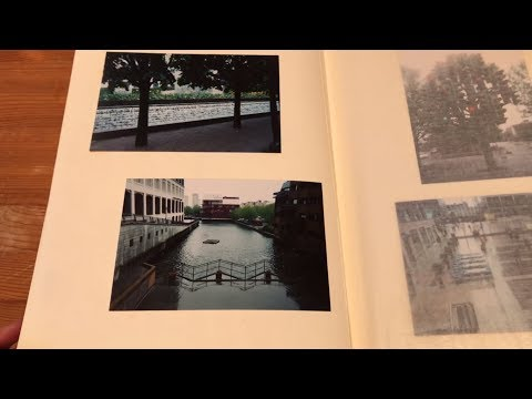 ASMR Looking through a London Photo Album for Sleep and Relaxation (soft spoken)
