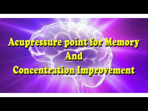 Acupressure point for Memory And Concentration Improvement