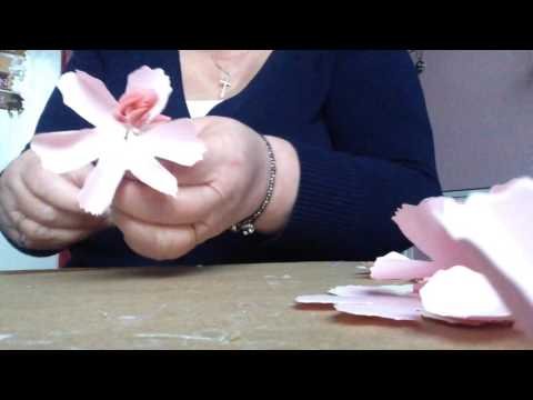How to make a paper Carnation