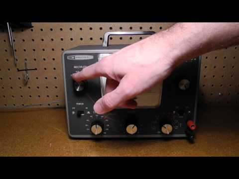 The Heathkit IG-72 Audio Generator