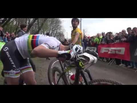 Sprint Marco Fontana and Nino Schurter - YouTube
