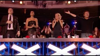 Comedian Daliso gets GOLDEN BUZZER From Amanda | Audition 3 | Britain's Got Talent 2017