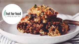 VEGAN EGGPLANT LASAGNA ROLL UPS | hot for food