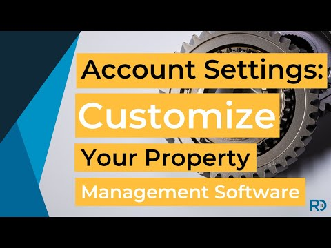 Account Settings: Customize Your Software | Rentec Direct Training Video