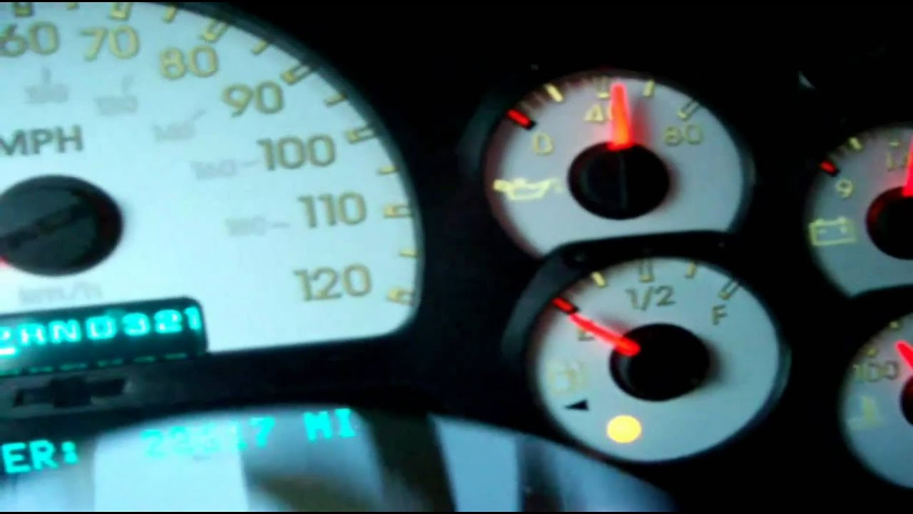 hight resolution of fuel gauge not working