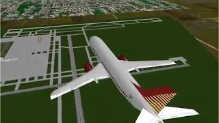 Microsoft Flight Simulator 98 | Lesson: VOR Hold: Boeing 737-400 |