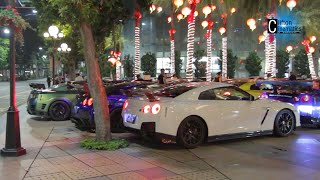 GTR Club Revs, Flyby and Exhaust Sounds