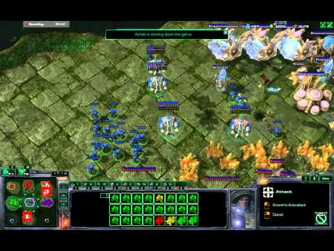 starcraft 2- map ( big great hunters- no unit limit)