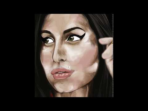 Amy Winehouse  / Back to Black – Digital Painting (Photoshop CC)
