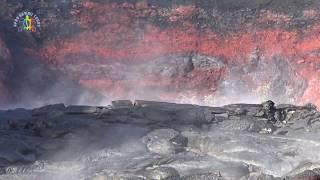Explore Inside Hawaii Kilauea Volcano Fissure 8 And Lava Channel In Leilani Estates