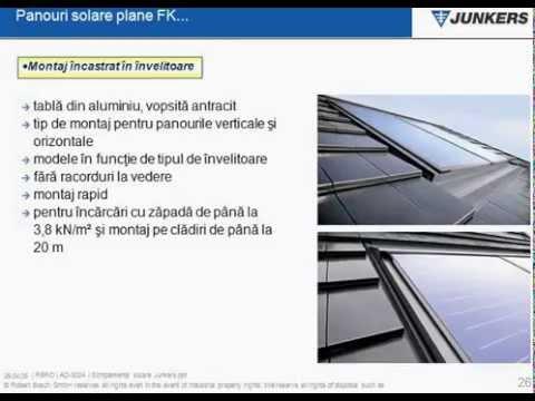 Panouri solare plane Bosch
