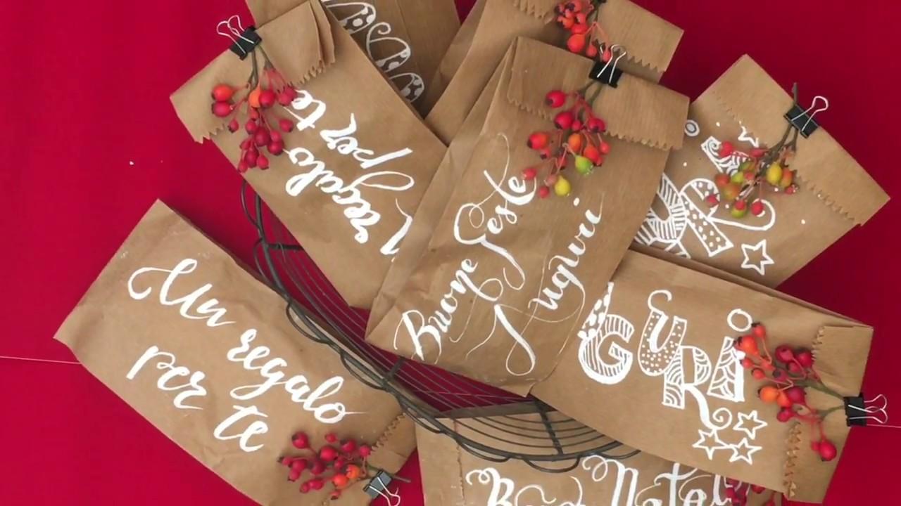 Come Fare Pacchetti Natalizi come fare pacchetti regalo con le buste del pane donnarita fast & curious