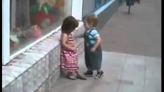 When kids falling in love