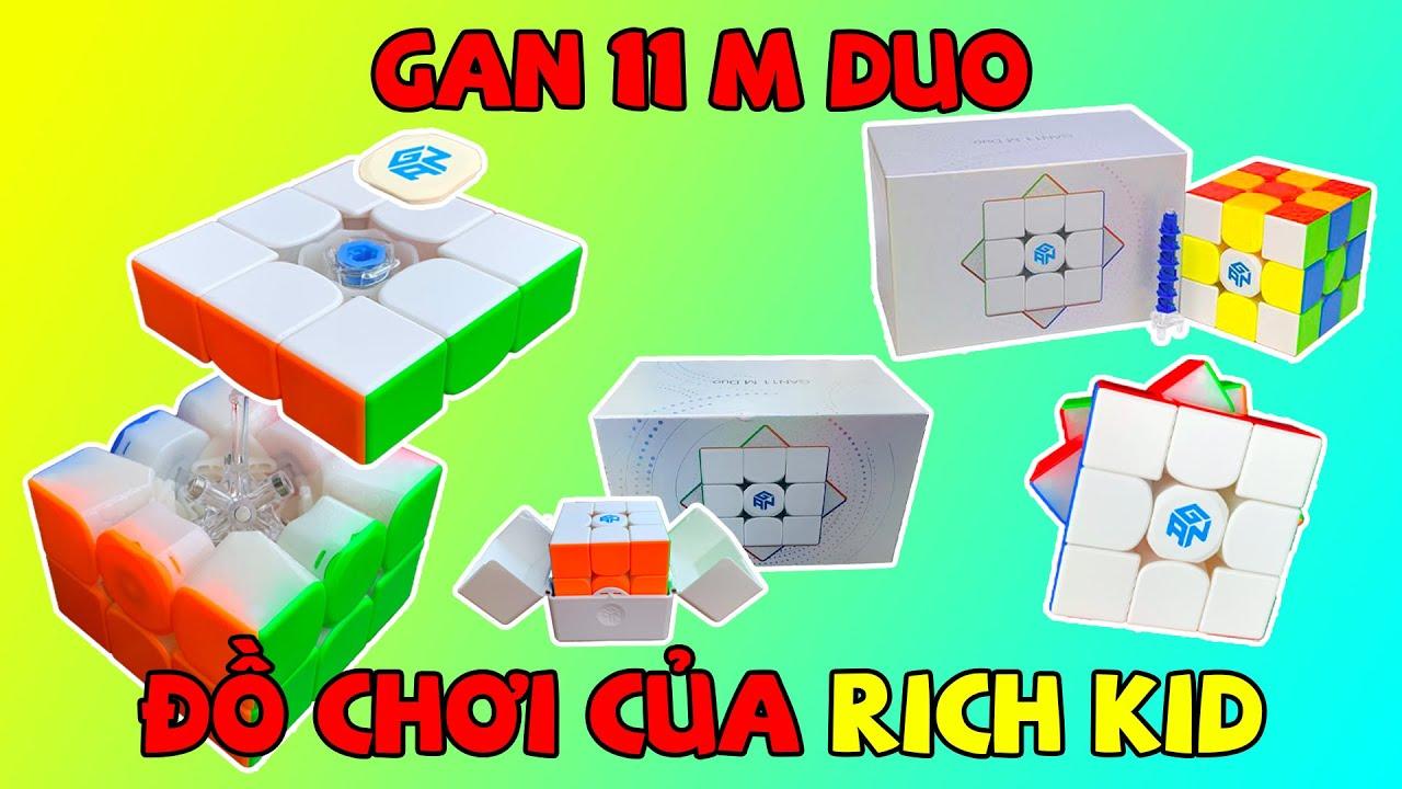 ACC - Đập Hộp Theo Yêu Cầu - Rubik Gan 11 M Duo | Đồ Chơi Của Rich Kid.