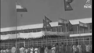 KING OF NEPAL IN INDIA || 1960 || INDRA GANDHI , J.NEHRU , RAJENDRA P