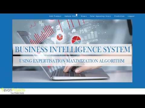 Business Intelligence Using Data Mining Algorithm