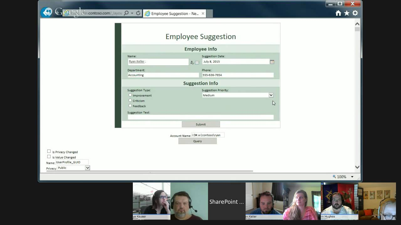 SharePoint Power Hour Episode 89: InfoPath People Picker