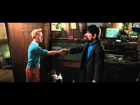 The Adventures of Tintin - HD Trailer #2 (2011)