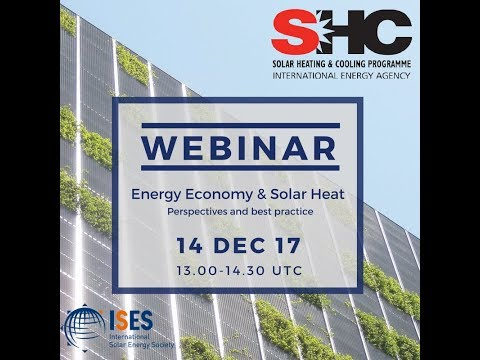 Webinar: Solar Academy  Energy Economy and Solar Heat – Perspectives and best practice