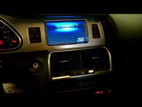 2007 Audi Q7 Bluray Dvd Player Integration To Factory Mmi