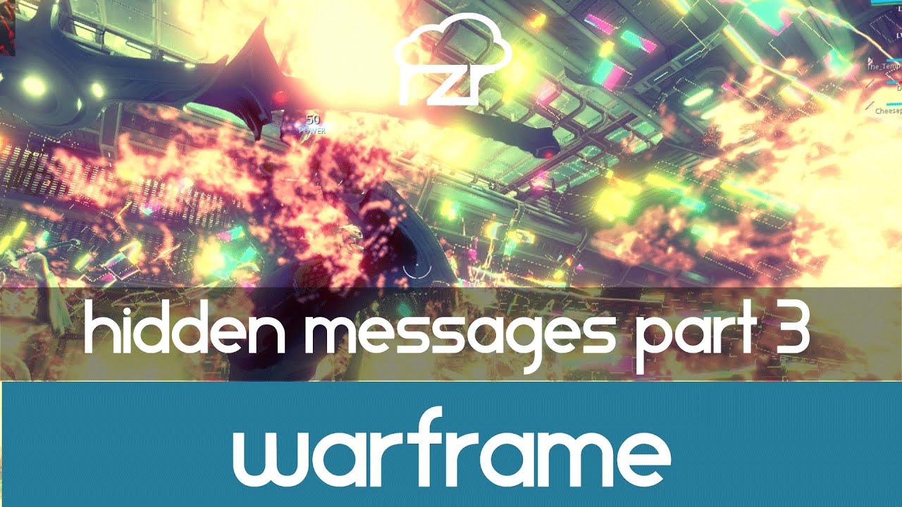the hidden messages warframe