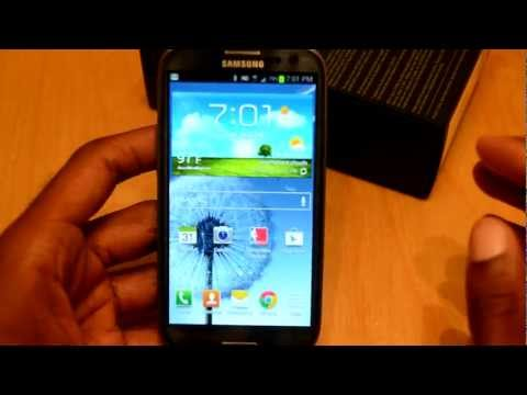 Sprint Samsung Galaxy S III 4G LTE Review (Pebble Blue)
