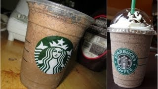 DIY Starbucks Java Chip Frappuccino !