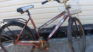 Переделка рамы велосипеда , женский вариант