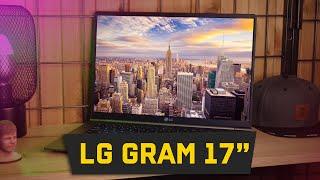 СВЕРХЛЕГКИЙ 17-дюймовый ноутбук - Обзор LG Gram
