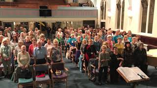 Sutton Coldfield Tuneless Choir song Have I The Right by the Honeycombs