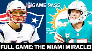 New England Patriots vs. Miami Dolphins Week 14, 2018 FULL Game: The Miami Miracle!