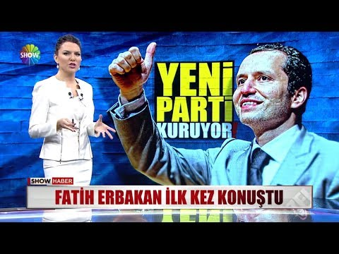 Fatih Erbakan ilk kez konuştu