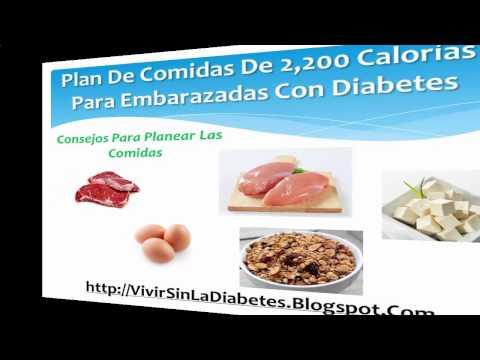 Dietas Para La Diabetes Gestacional
