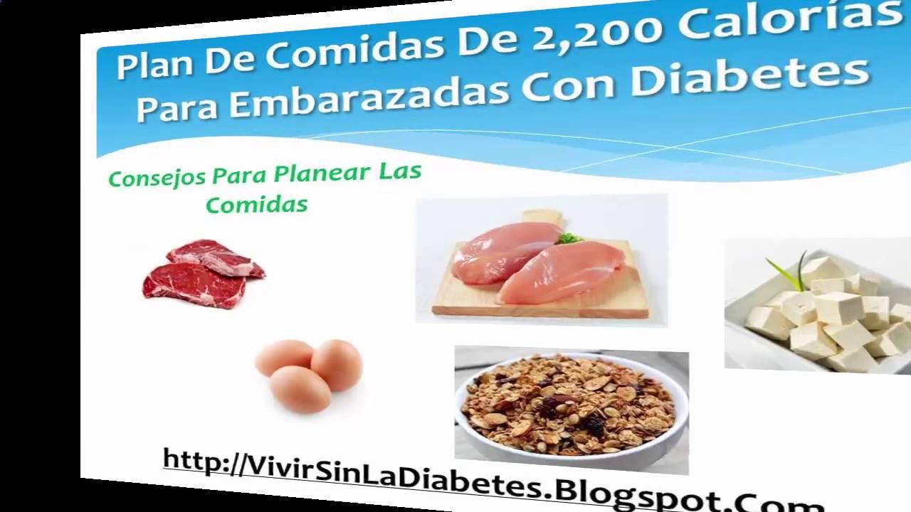 Dietas Para La Diabetes Gestacional - YouTube